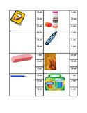 Measurement Clip Cards (cm) Editable
