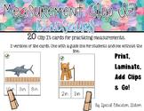 Measurement Clip It- Dinosaurs