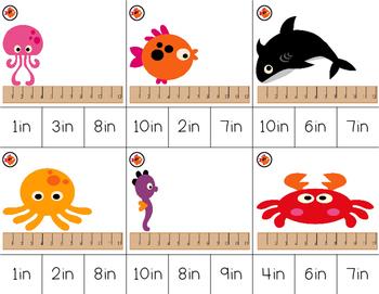 Measurement Clip It- Sea Life