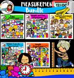 Measurement Clipart Bundle- 337 image files!!