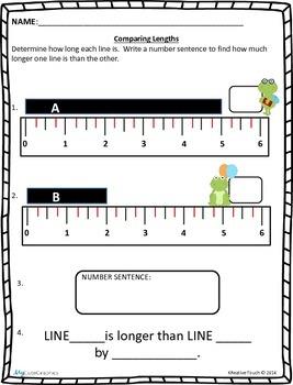 Measurement: Comparing Lengths