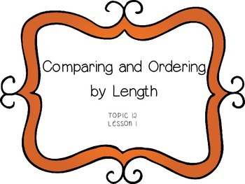 Measurement: Comparing and Ordering by Length - First Grade enVision Math