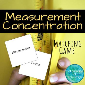 Measurement Concentration Matching Game