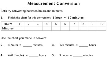 Measurement Conversion, 2nd grade - worksheets - Individualized Math