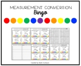 Measurement Conversion Bingo