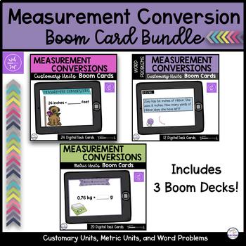 Measurement Conversion Bundle - Boom Cards