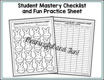 Measurement Worksheets - Customary Length