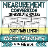Measurement Conversion Worksheets Customary Length