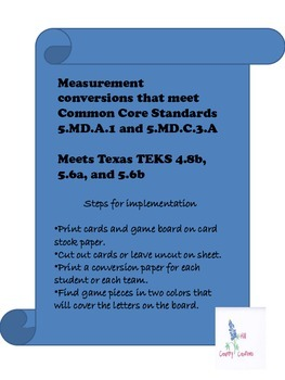 Measurement Conversion, Customary Lengths..(Tic Tac, How Long is That?)