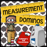 Measurement Conversion Dominos: Customary Units