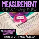 Measurement Conversion Easter Egg Hunt Activity