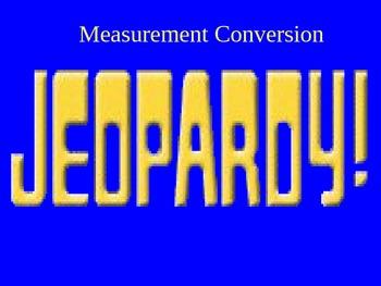 Measurement Conversion Jeopardy