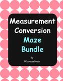 Measurement Conversion Maze Bundle