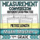 Measurement Conversion Worksheets - Metric Length