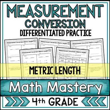 Measurement Conversion Worksheets Metric Length By Shelly Rees