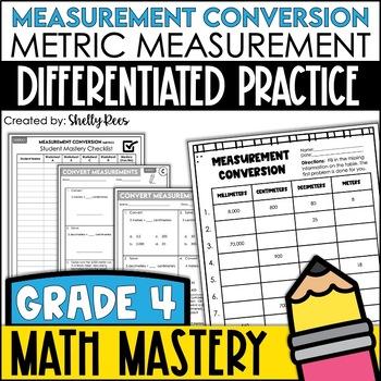 Measurement Worksheets - Metric Length
