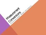 Measurement Conversion PowerPoint