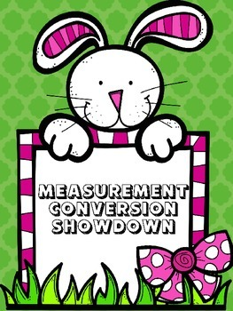 EASTER FREE Measurement Conversion Showdown