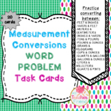 Measurement Conversion Word Problem Task Cards