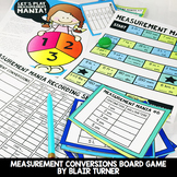Measurement Conversions Board Game: 4th Grade Math Centers 4.MD.1