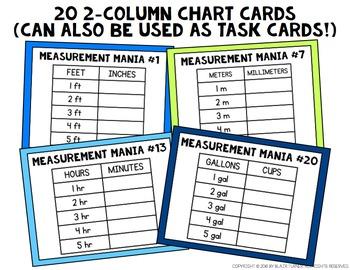 Measurement Conversions Board Game: 4th Grade Math Centers 4.MD.1