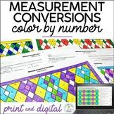 Measurement Conversions Color by Number