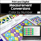 Measurement Conversions Color by Number