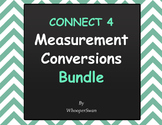 Measurement Conversions - Connect 4 Game Bundle