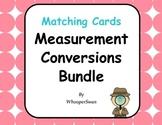 Measurement Conversions Matching Cards Bundle