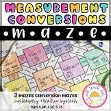 Measurement Conversions Maze 4.8B 5.7A