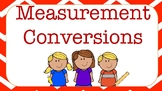 Measurement Conversions Metric System Posters , Length Capacity and Time
