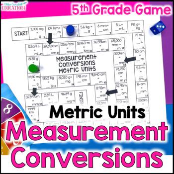 Measurement Conversions Metric Units Board Game