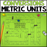 Measurement Conversions Metric Units Board Game