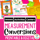 Measurement Conversions - Metric and Customary [Google Classroom Compatible]