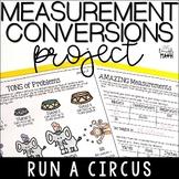 Measurement Conversions Project- Distance Learning Math Enrichment