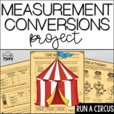 Measurement Conversions Project- Distance Learning Math Enrichment