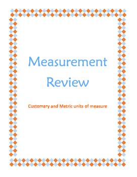 Measurement Conversions Review