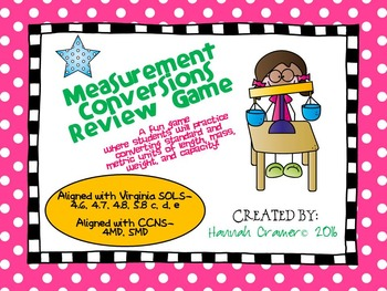 Measurement Conversions Review Game