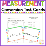 Measurement Conversions Task Cards