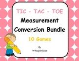 Measurement Conversions Tic-Tac-Toe Bundle