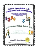 Measurement Conversions Using U.S. Standard (Customary) an