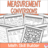 Measurement Conversions Worksheets - Customary