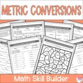 Measurement Conversions Worksheets - Metric