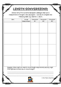 Measurement - Convert Lengths