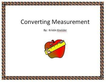 Measurement - Converting Measurement
