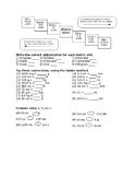 Measurement Converting Units - Editable