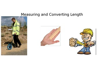 Measurement -PowerPoint- Converting length between mm, cm, m, km