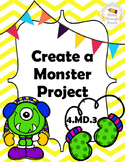 Measurement - Create a Monster Project - Area & Perimeter 4.MD.3