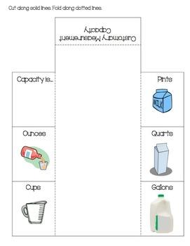 Measurement-- Customary Capacity Foldable