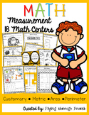 Measurement Math Centers/Games {Metric, Customary, Area &